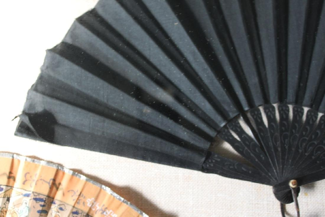 Antique Chinese Folding fans - 8