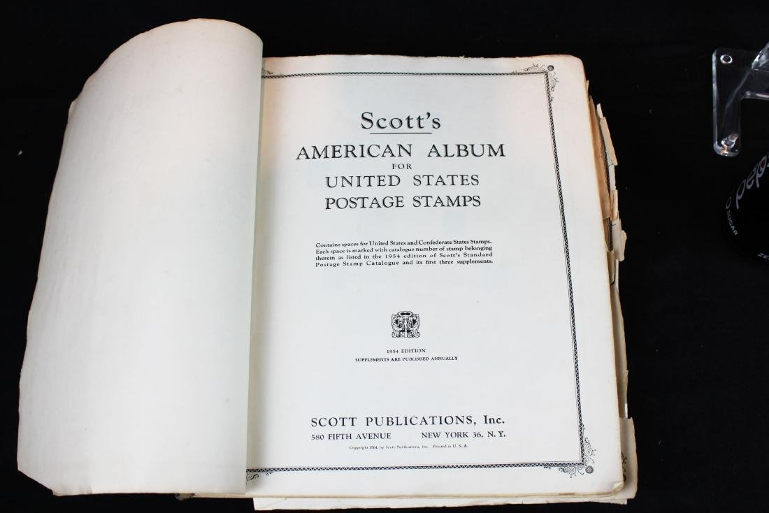One book of American Stamps