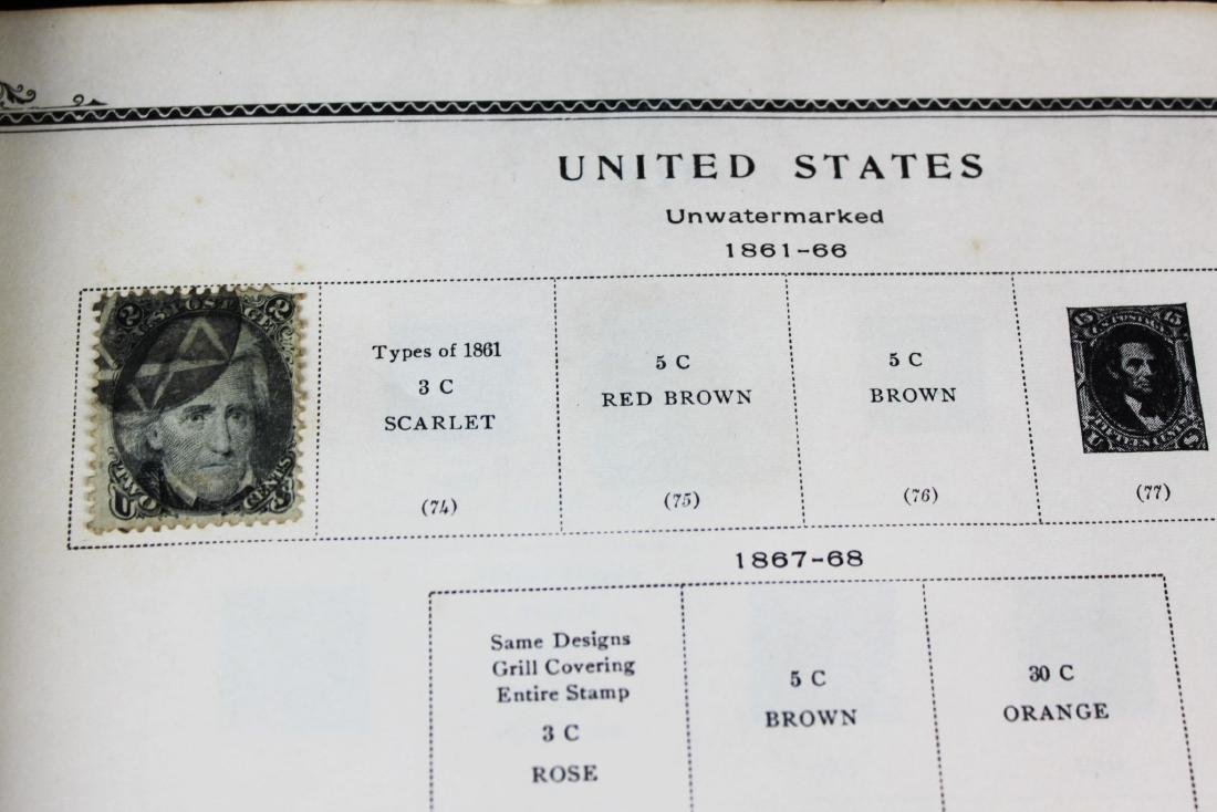 One book of American Stamps - 4