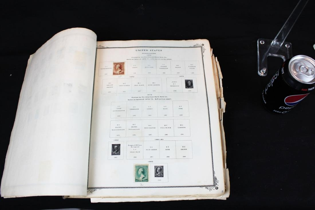 One book of American Stamps - 6