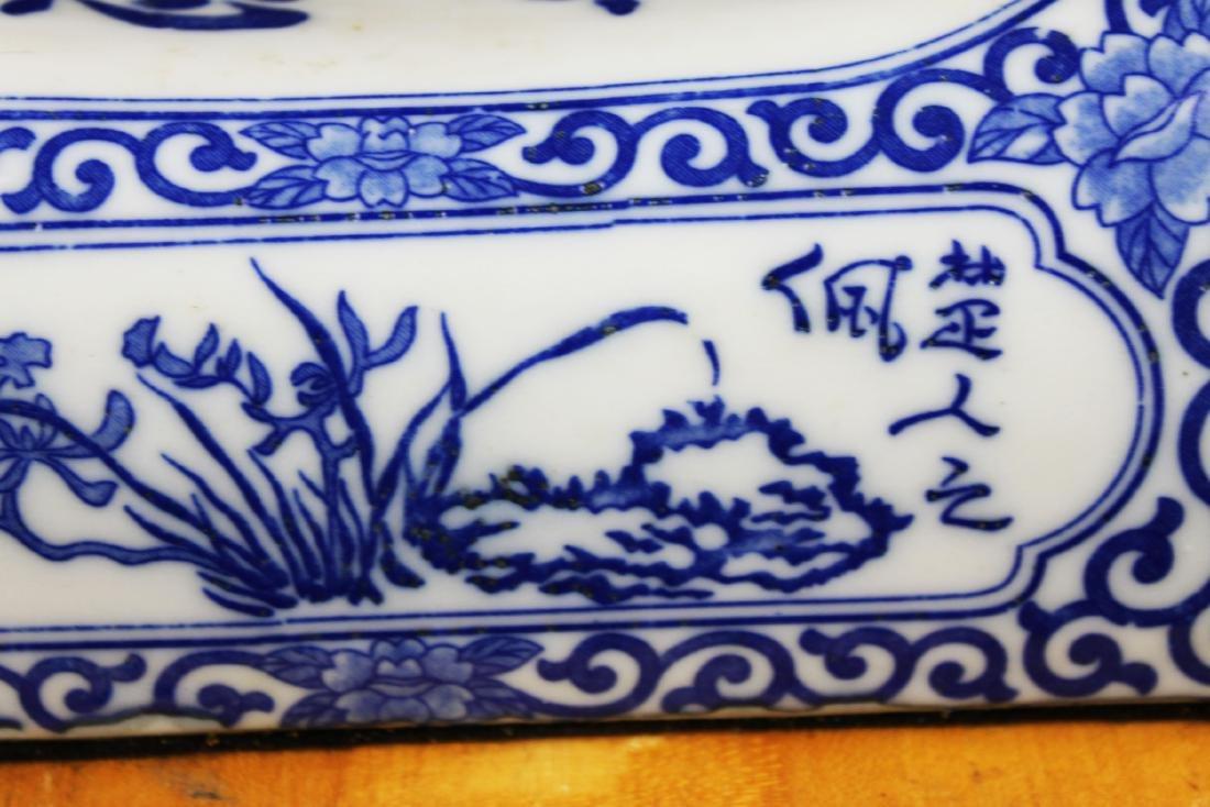 Antique Chinese Porcelain Pillow - 6