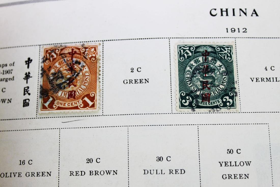Chinese Stamps from 1900s' - 3