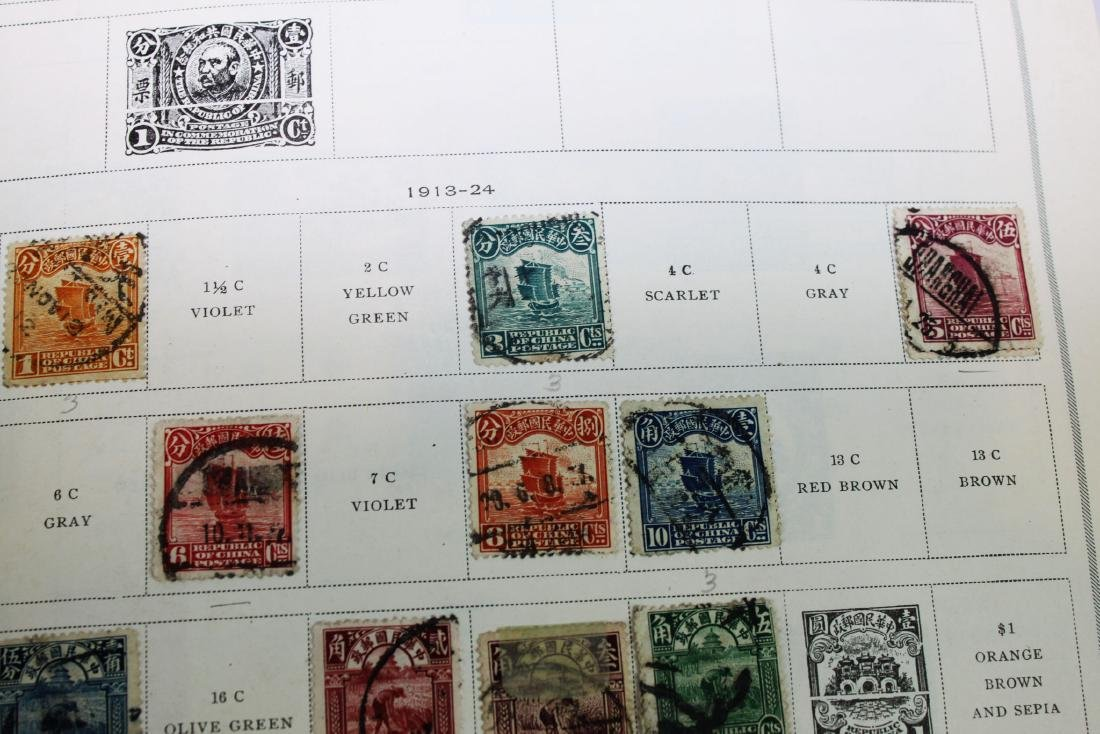 Chinese Stamps from 1900s' - 4