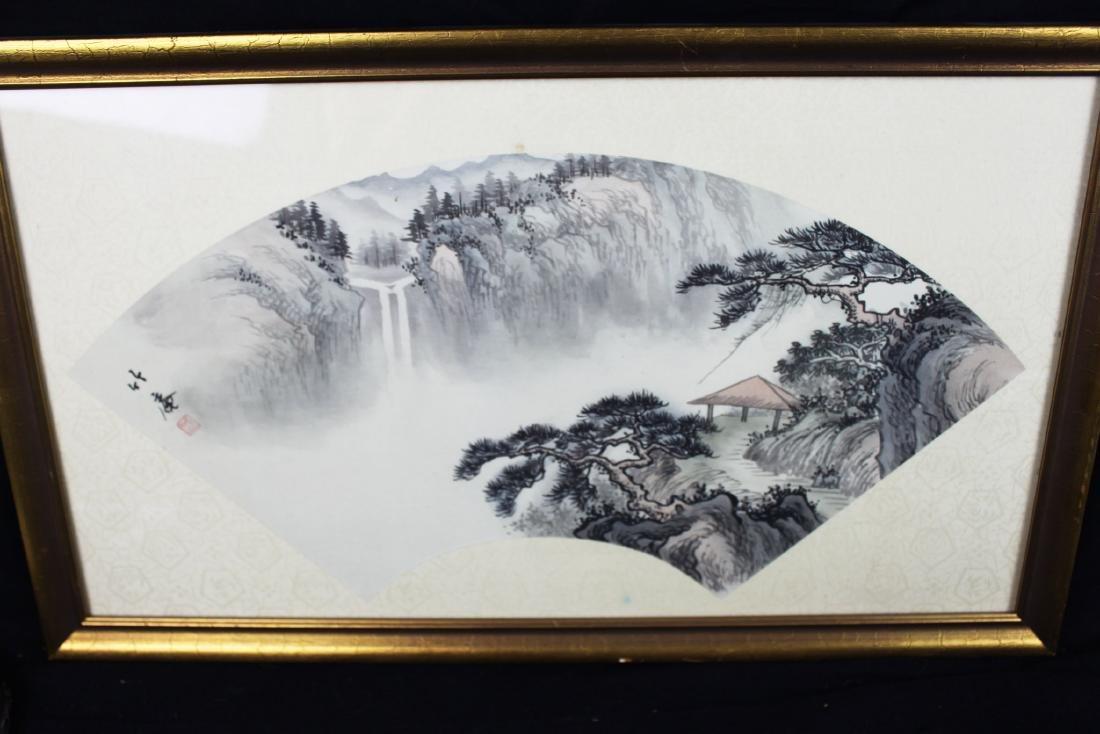 Chinese Fan Shape Painting
