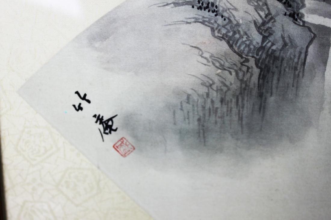 Chinese Fan Shape Painting - 2