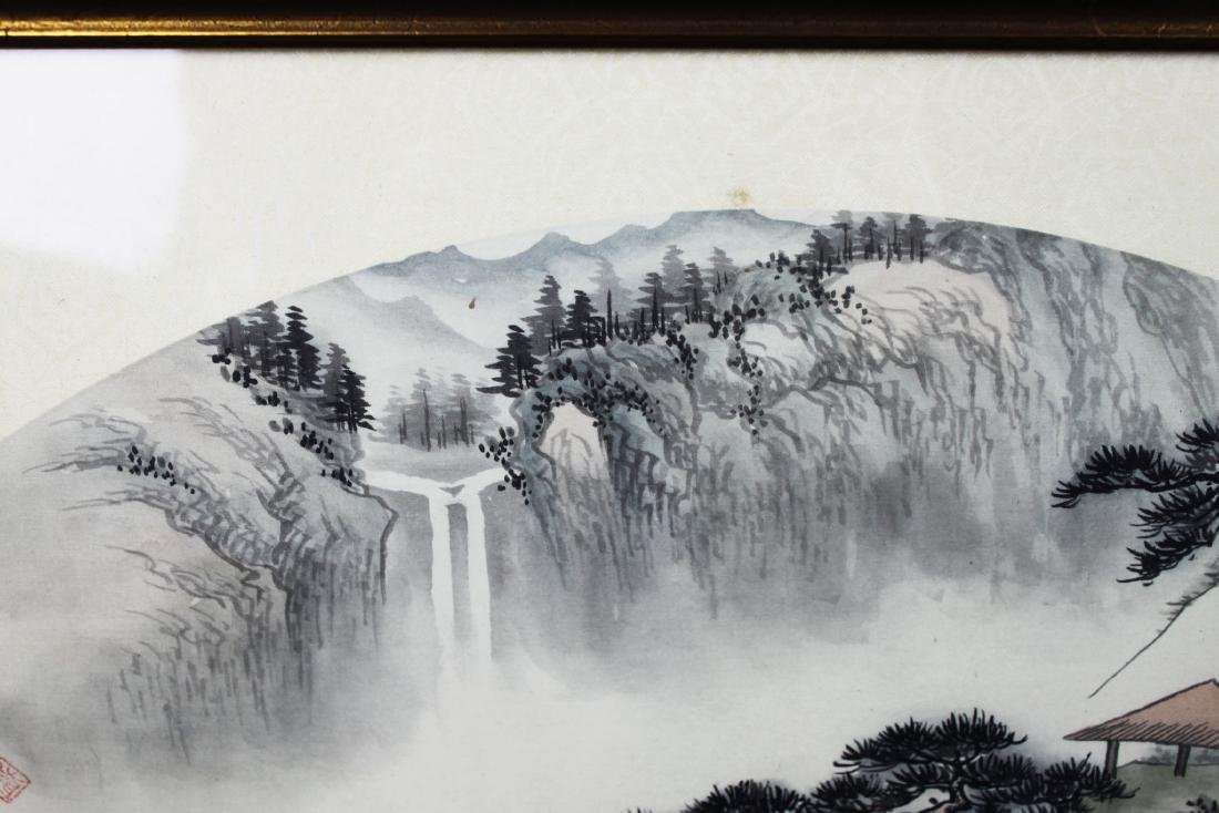 Chinese Fan Shape Painting - 3