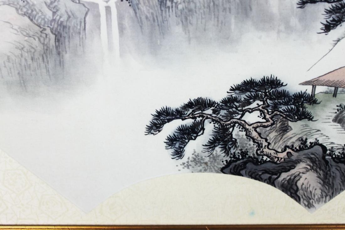 Chinese Fan Shape Painting - 4