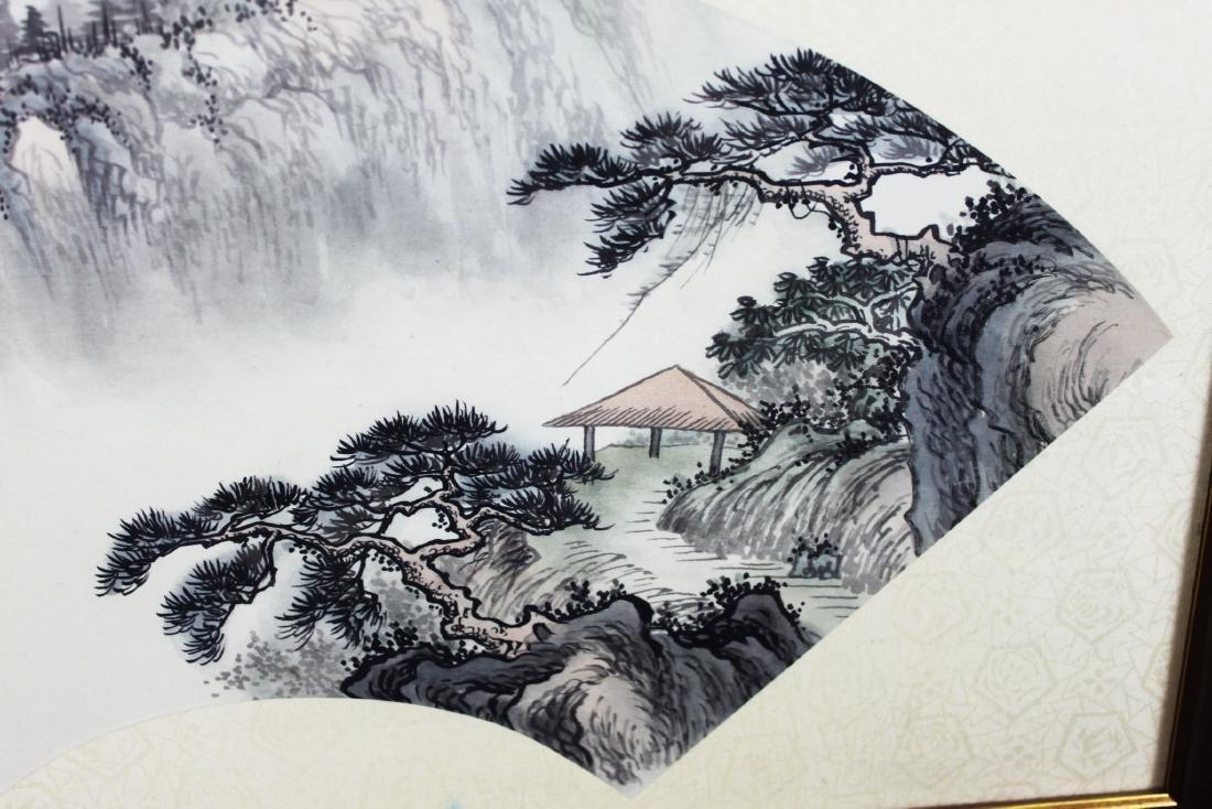 Chinese Fan Shape Painting - 5