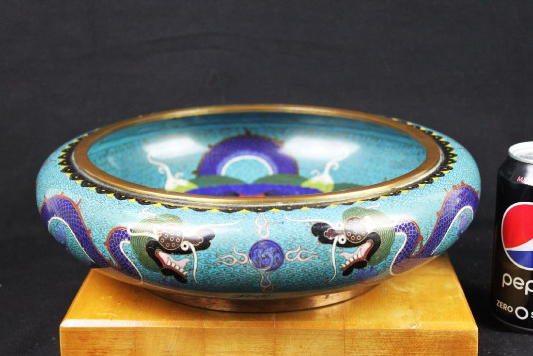 Antique Chinese Cloisonne Planter
