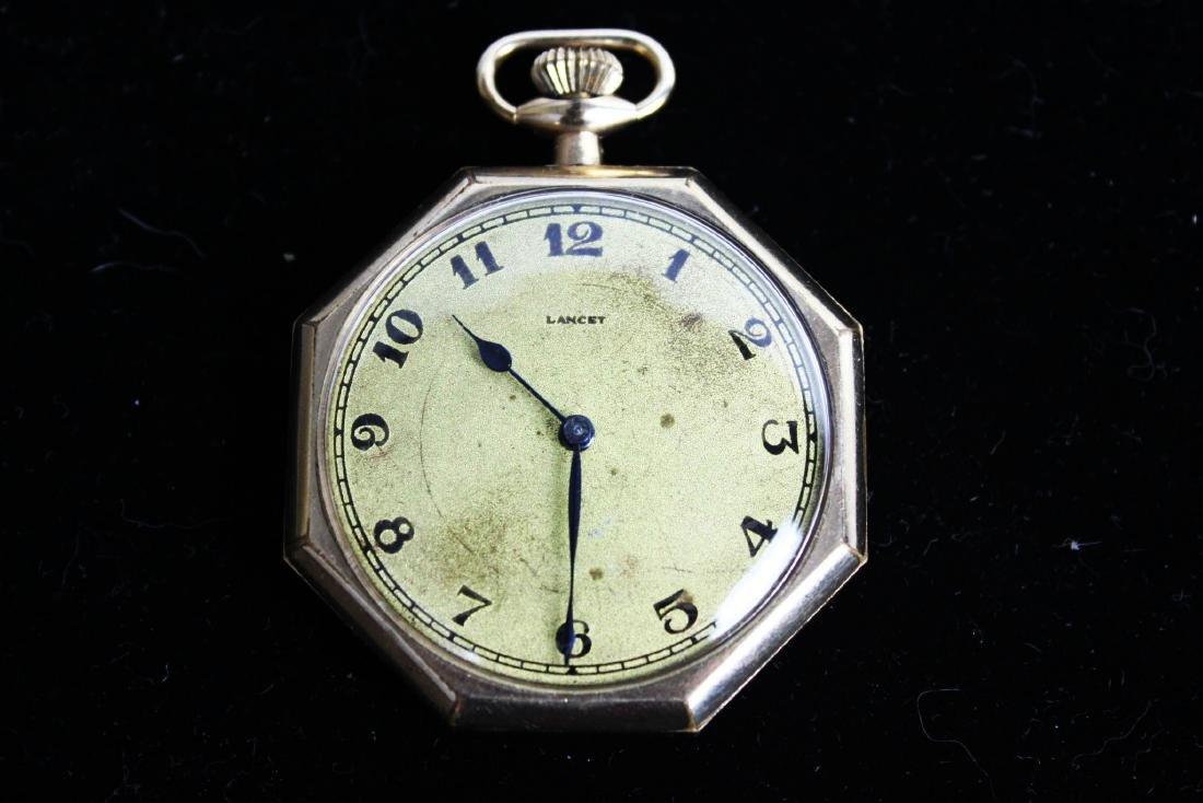 Vintage Early 1900s Lancet Pocket Watch
