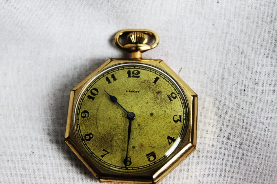 Vintage Early 1900s Lancet Pocket Watch - 3