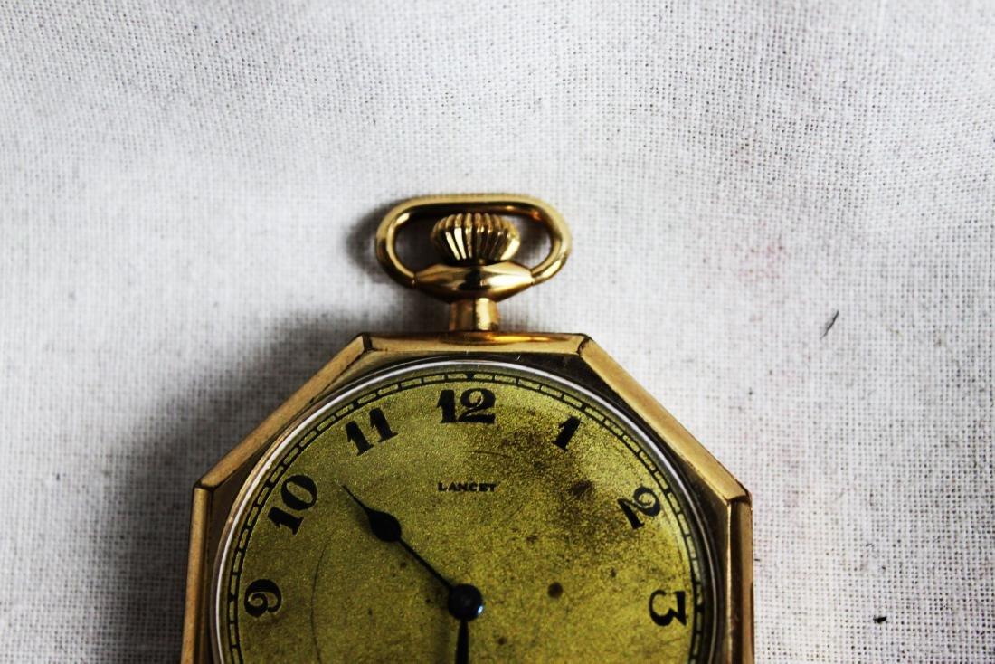 Vintage Early 1900s Lancet Pocket Watch - 4