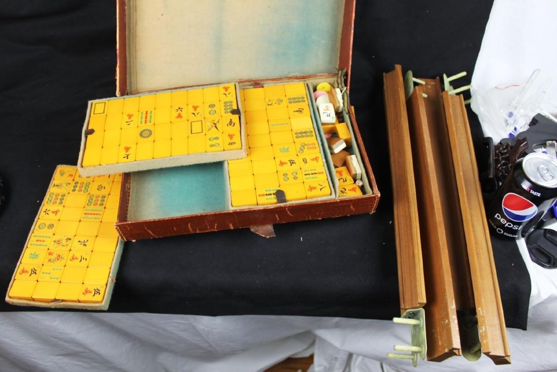 Antique Chinese Majong set - 2