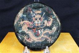 Antique Chinese Hand Silked Uniform Rank