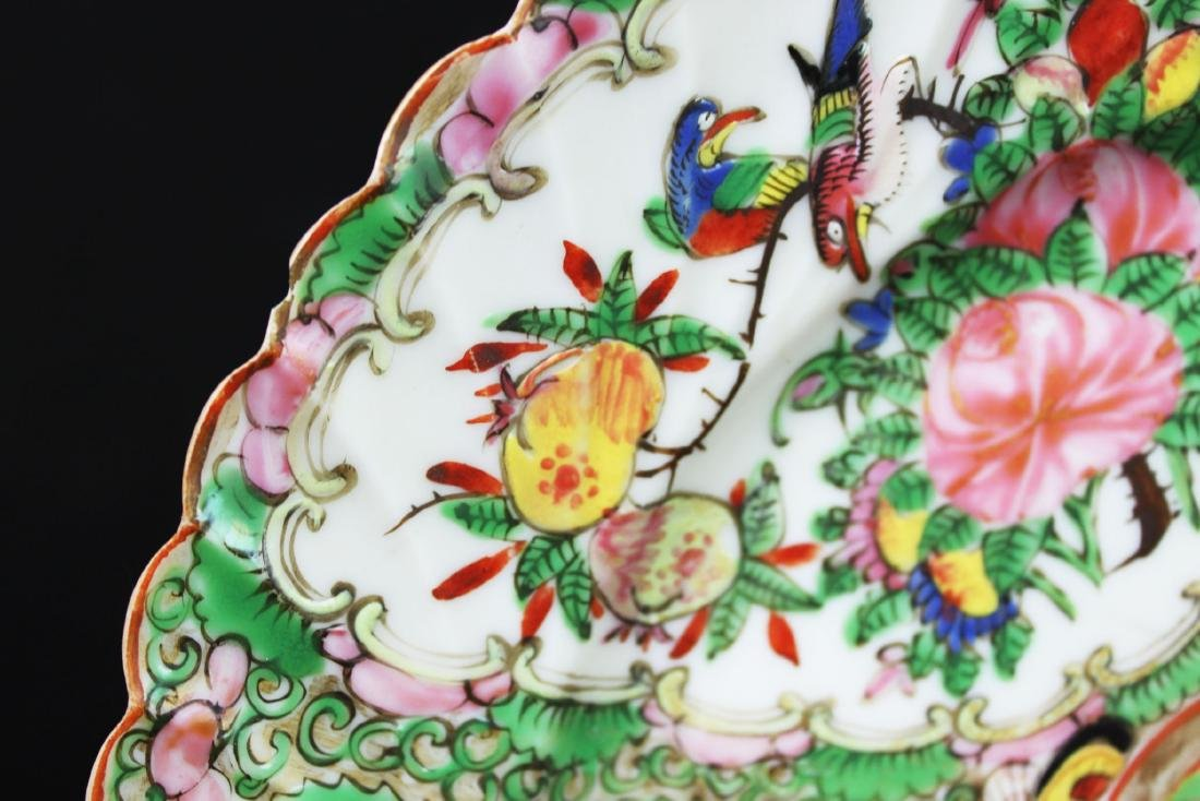 A Pair Chinese Famillie Rose Porcelain Plates - 5