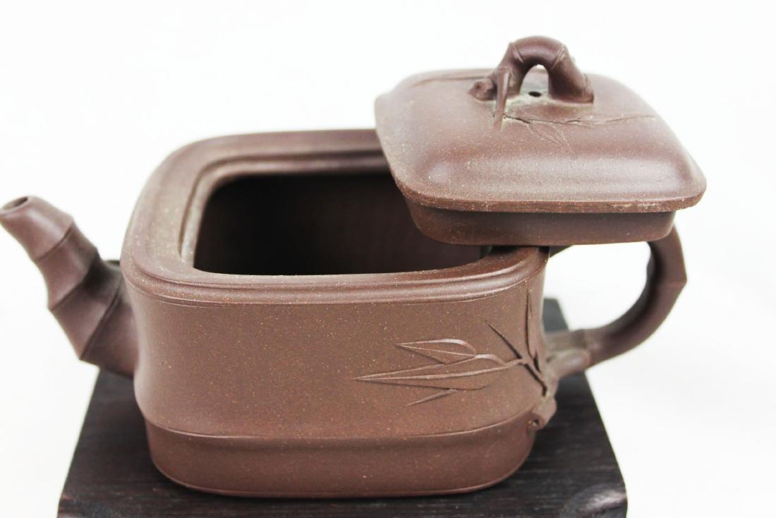 Chinese Yi Xing Zisha Teapot - 3
