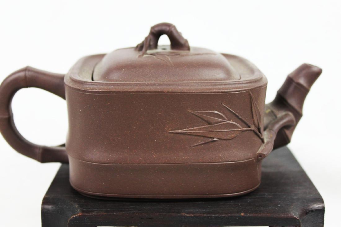 Chinese Yi Xing Zisha Teapot - 6