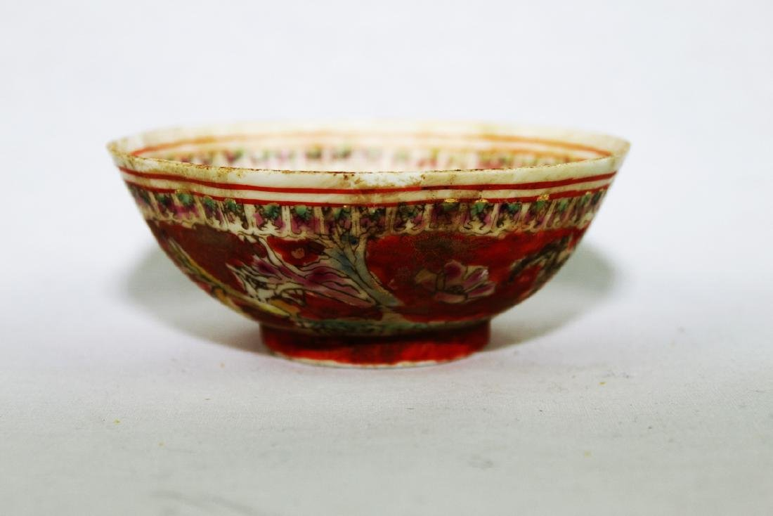 Antique Super Thin Chinese Porcelain Bowl made in Qing - 4