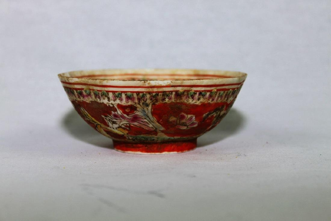 Antique Super Thin Chinese Porcelain Bowl made in Qing - 5