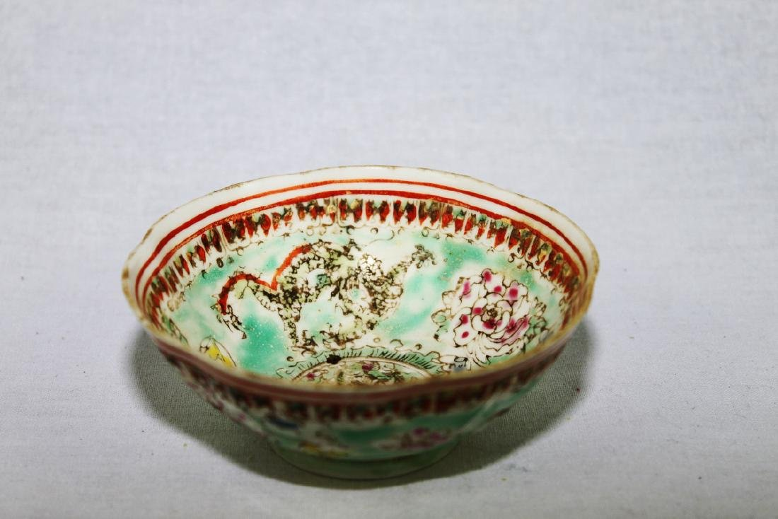 Antique Super Thin Chinese Porcelain Bowl made in Qing - 6