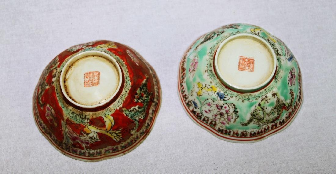 Antique Super Thin Chinese Porcelain Bowl made in Qing - 9