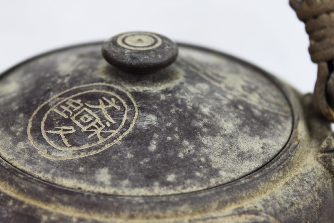 Antique Chinese Zisha Teapot - 4