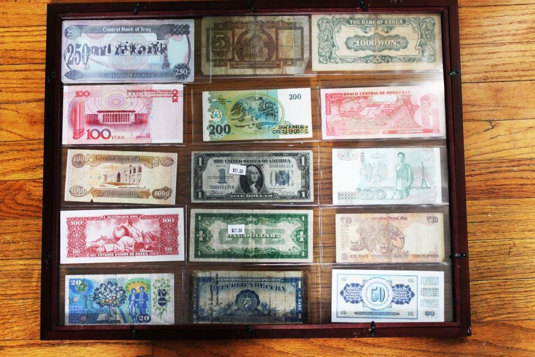 Antique Banknotes/bills. 15 bills - 8