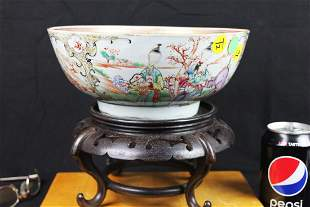 Antique Chinese Porcelain Bowl 1900 or earlier