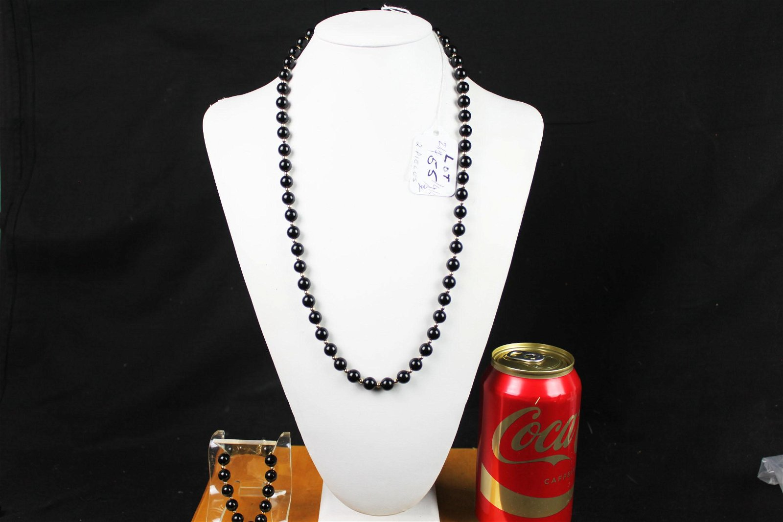Chinese Agate Neckless and Bracelet 14k
