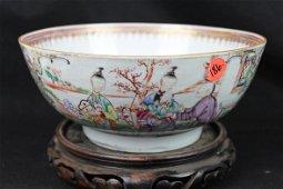 Antique Chinese QianLong Porcelain Bowl