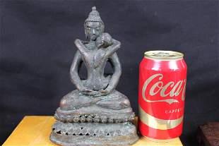 Antique Bronze Elephant Statue