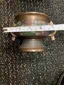 Antique Chinese Cloisonne Bronze Censor