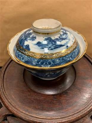 Gilded Gold Porcelain Tea Cup