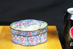 Antique Chinese Enamel Box