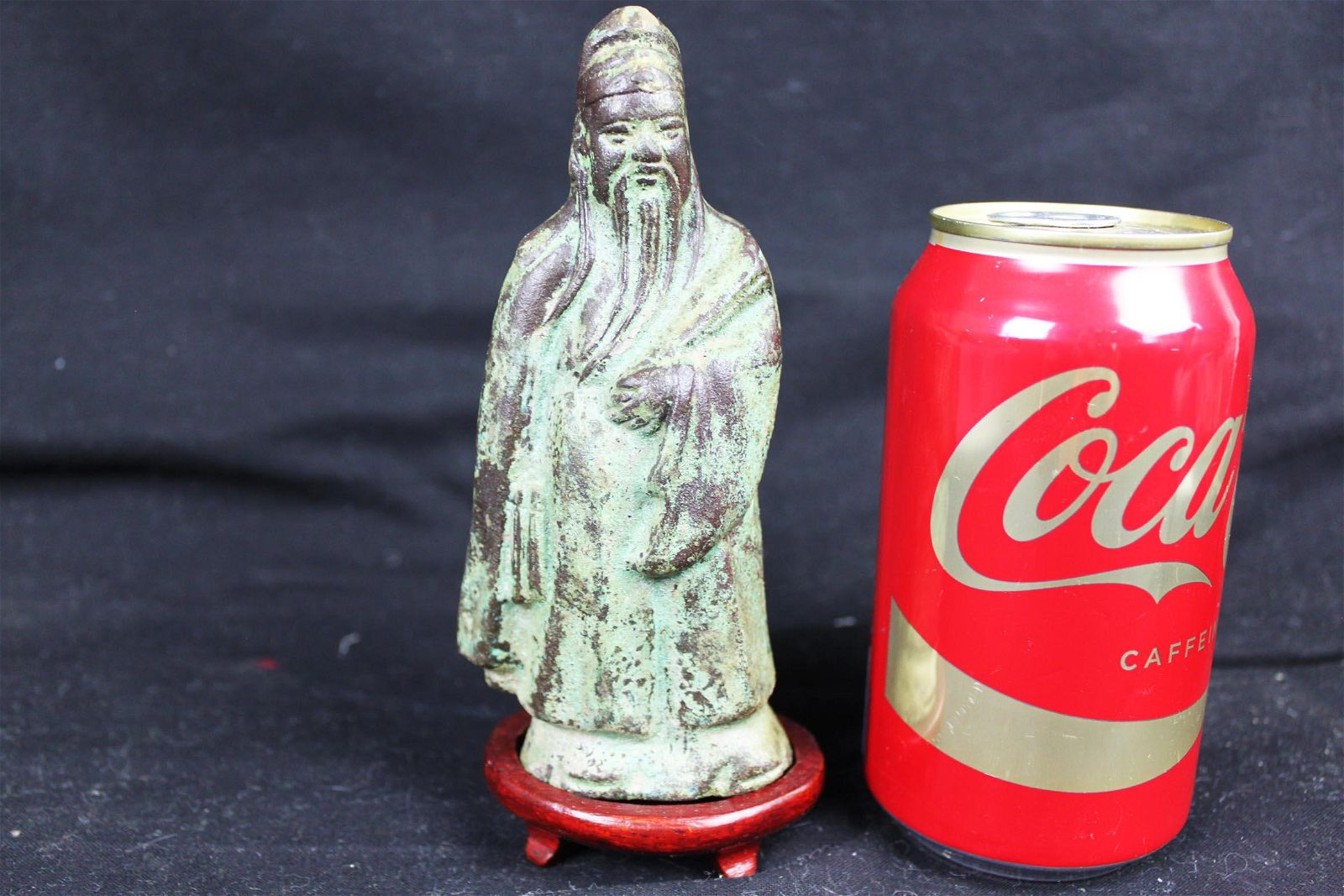 Antique Chinese Bronze Statue