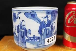 Antique Chinese Porcelain Brush Pen Holder