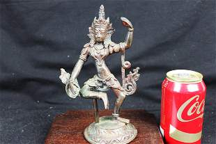 Antique Chinesee Bronze Statue
