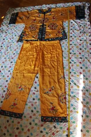Antique Chinese Silk Cloth