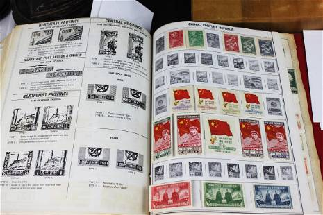 Chinese Stamps - Mao Ze Dong 1949-1950