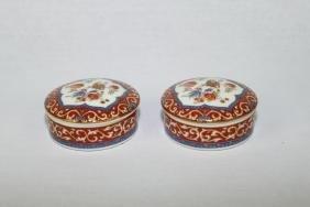 Pair of KAISER Porcelain Trinket Box