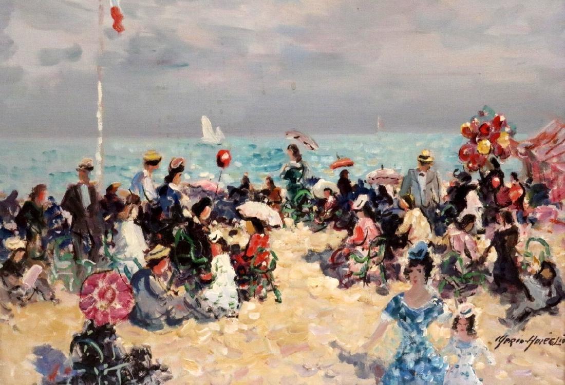 Merio Ameglio (Italian 1897-1970) Oil Painting on
