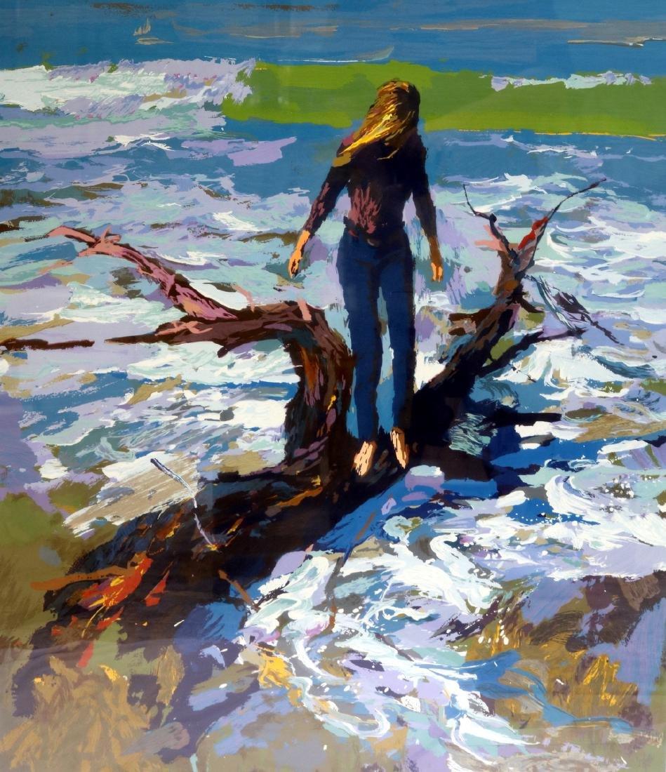 "Nicola Simbari (Italian 1927-2012) ""Driftwood"""