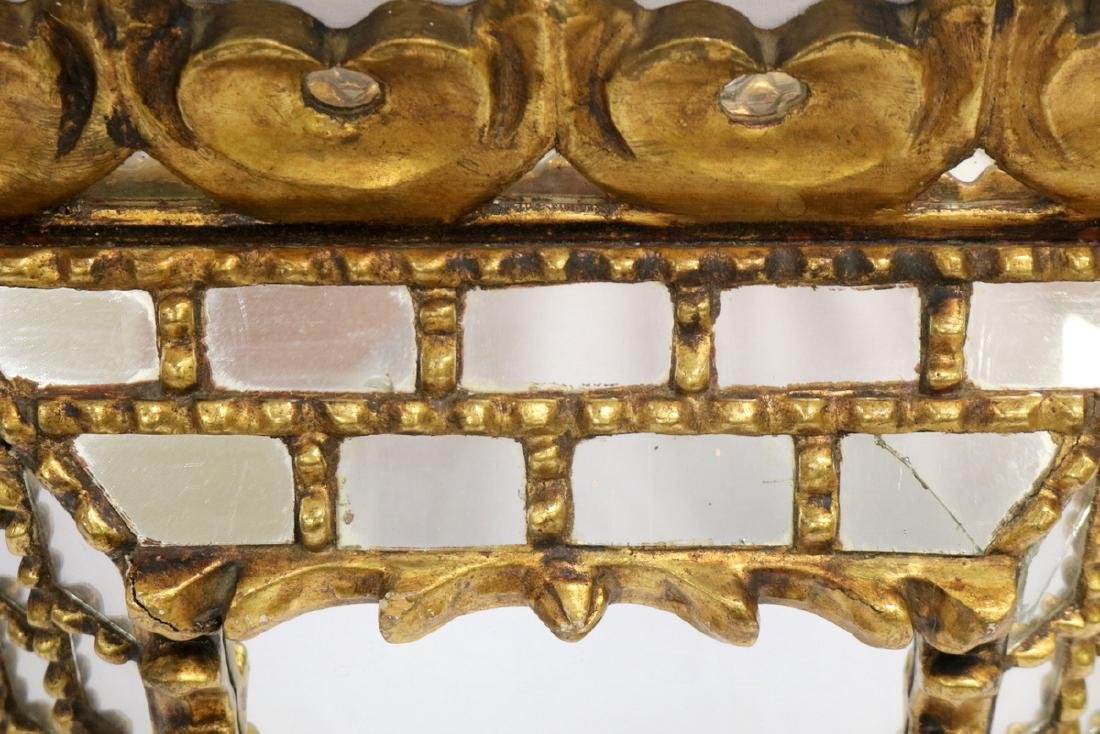Antique Gilded Wall Mirror - 3