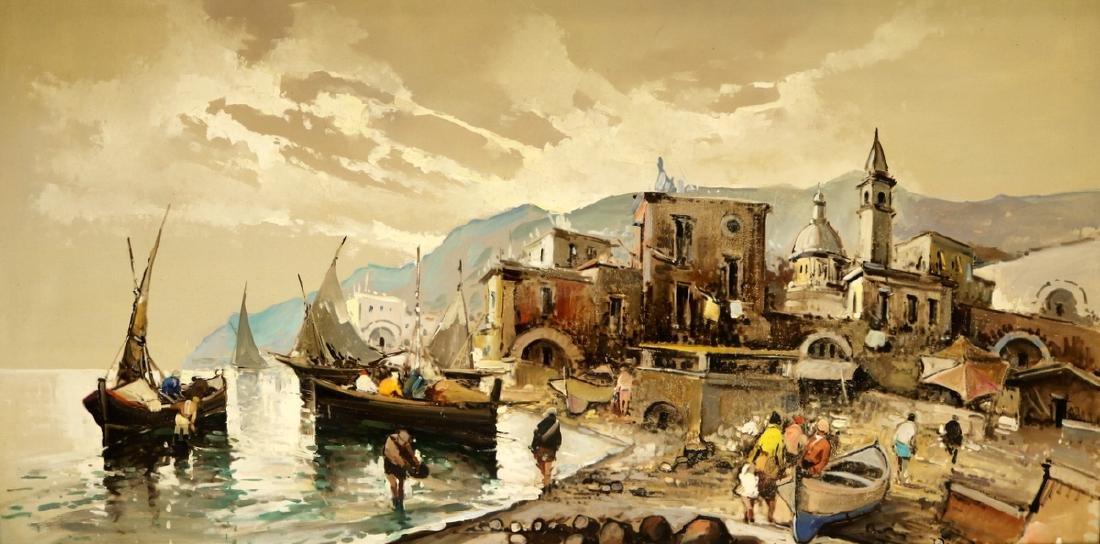 Antonio Devity (Italian 1901-1993) Oil Painting on