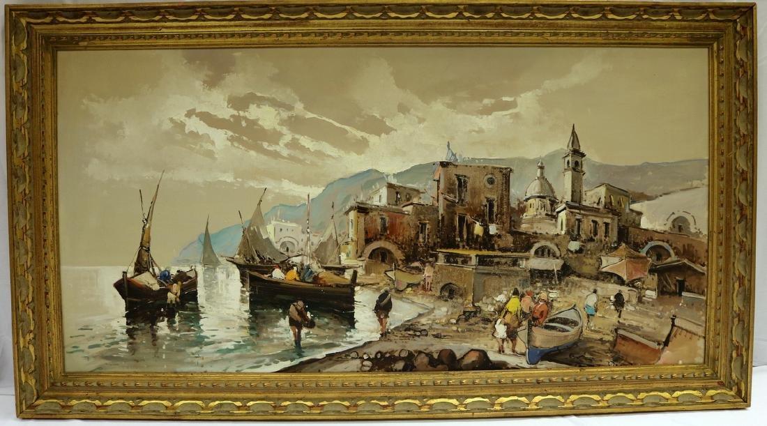 Antonio Devity (Italian 1901-1993) Oil Painting on - 2