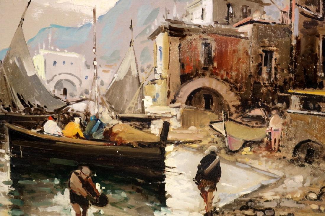 Antonio Devity (Italian 1901-1993) Oil Painting on - 3
