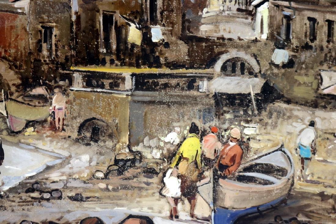 Antonio Devity (Italian 1901-1993) Oil Painting on - 4