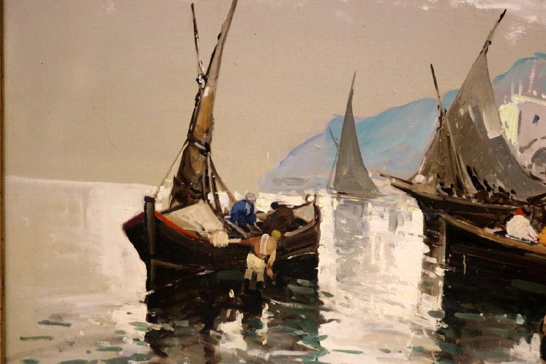 Antonio Devity (Italian 1901-1993) Oil Painting on - 5