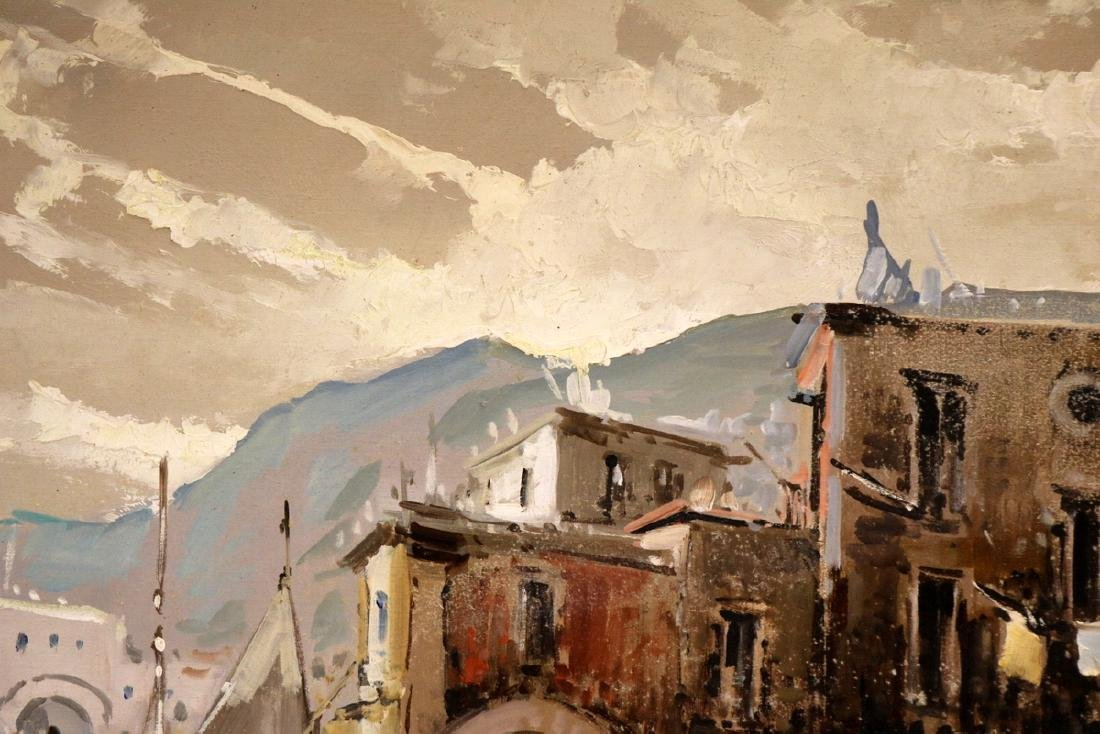 Antonio Devity (Italian 1901-1993) Oil Painting on - 6