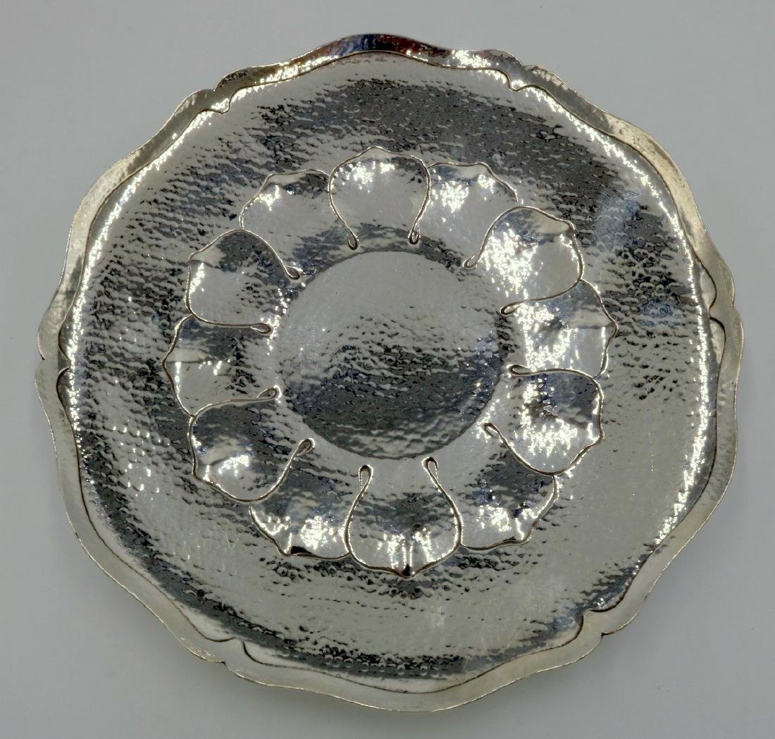 Shreve & Co. Sterling Footed Plate